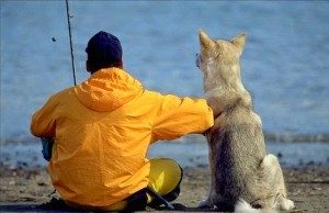 Bond Between Men and Their Dogs