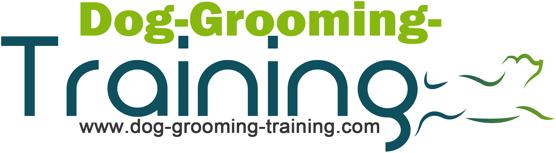 Dog Grooming Training Logo