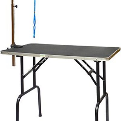 Go Pet Club Pet Dog Grooming Table with Arm